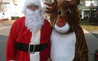 Santa & Rudolph Visit: Dec. 21, 2018