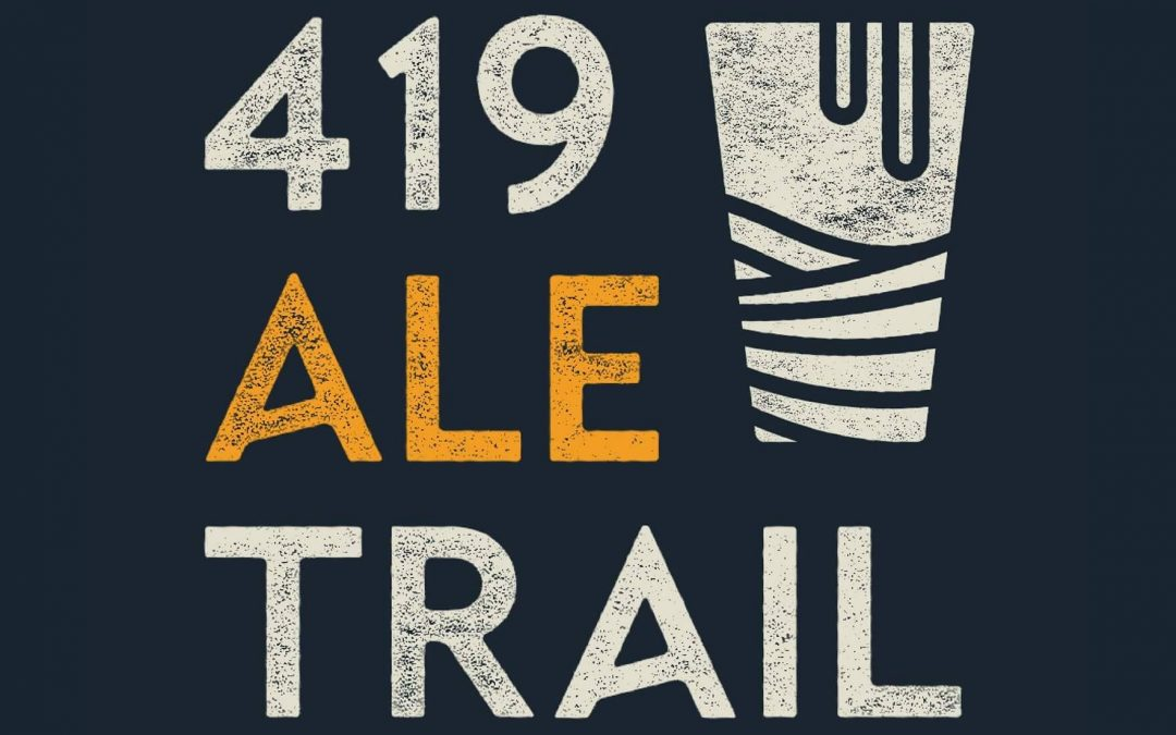 We're part of the 419 Ale Trail!